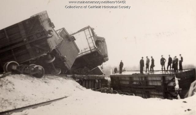 Bangor and Aroostook train wreck