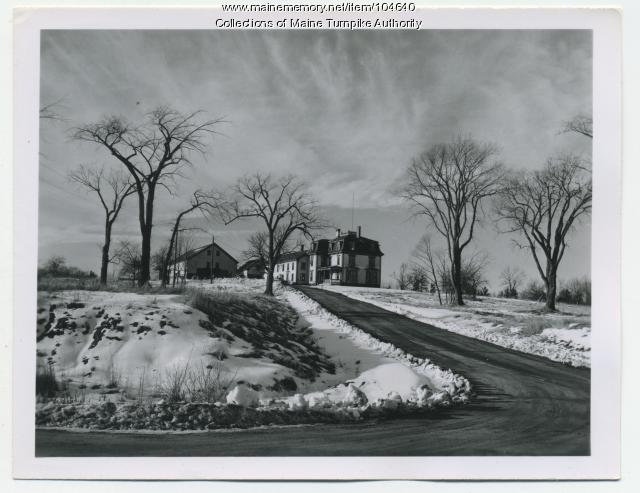 Crosby Farm on Payne Road, South Portland, ca. 1947