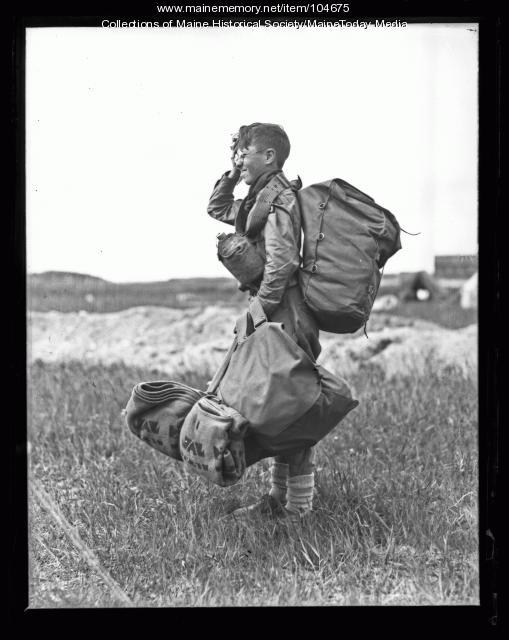 Boy Scout, ca. 1935