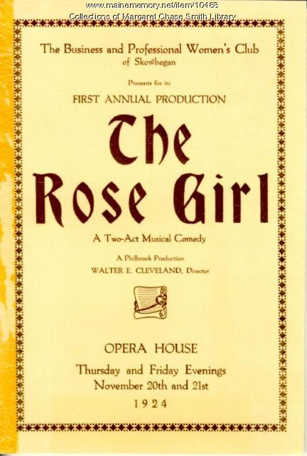 The Rose Girl