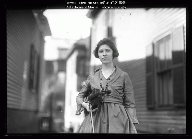 Ruth Flanders, April 1920