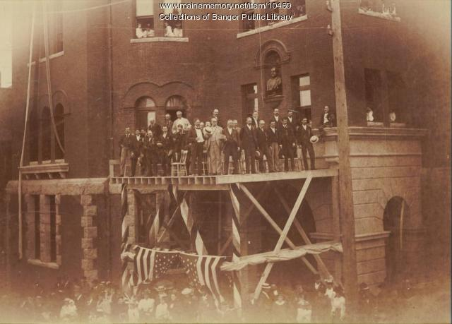 Dedication of Bangor City Hall, 1894