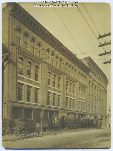 Columbia Street to Hammond Street, Bangor, ca. 1907
