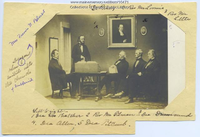Deacons of the First Parish Church in Bangor