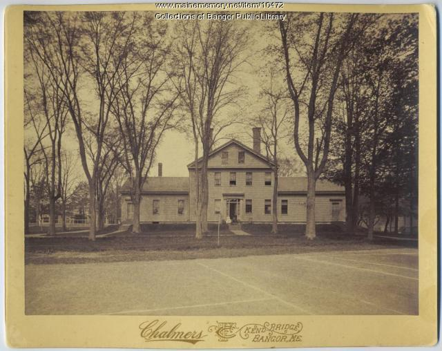 Boarding House, Bangor Theological Seminary, ca. 1894