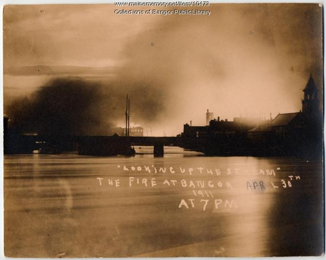 1911 Fire in Bangor