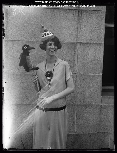 Ruth Robinson at the NFBPWC Convention, Portland, 1925