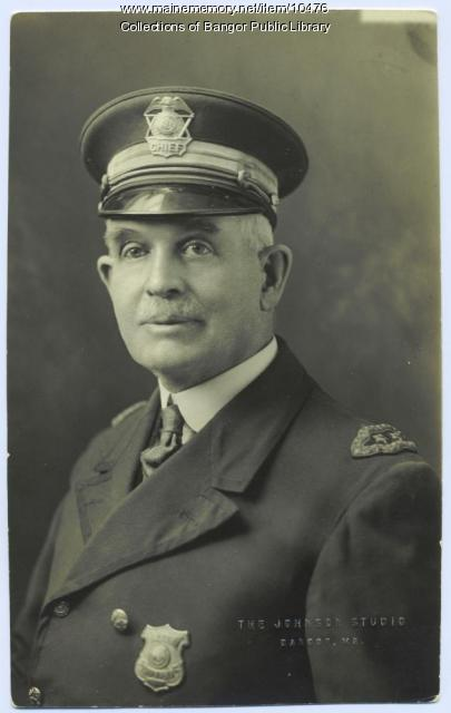 Chief Benjamin P. Sproul of Bangor
