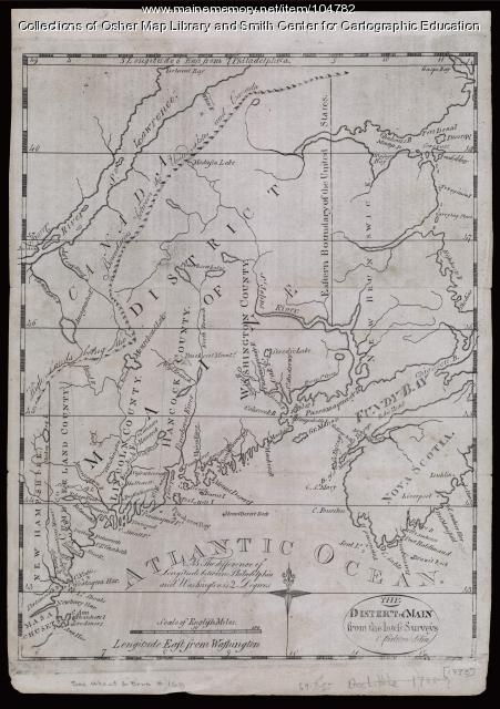 The District of Maine, 1793