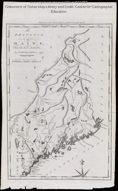 The Province of Maine, 1794