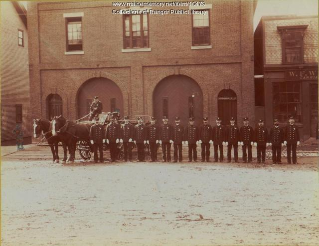 Central Street Fire Company, Bangor, ca. 1905