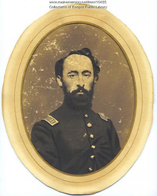 Capt. Samuel Keene, Rockland, ca. 1862