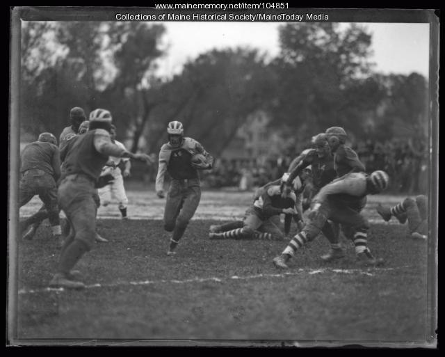 Football game, ca. 1935