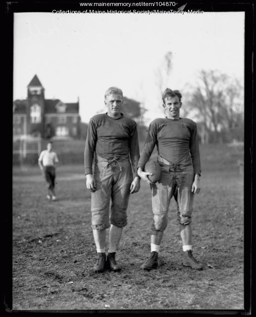 Football players, ca. 1935