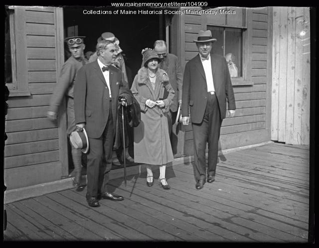 First to leave the Portland pier for the Governors Convention, 1925