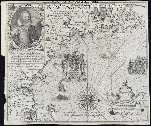 """New England the Most Remarqueable Parts Thus Named,"" 1637"