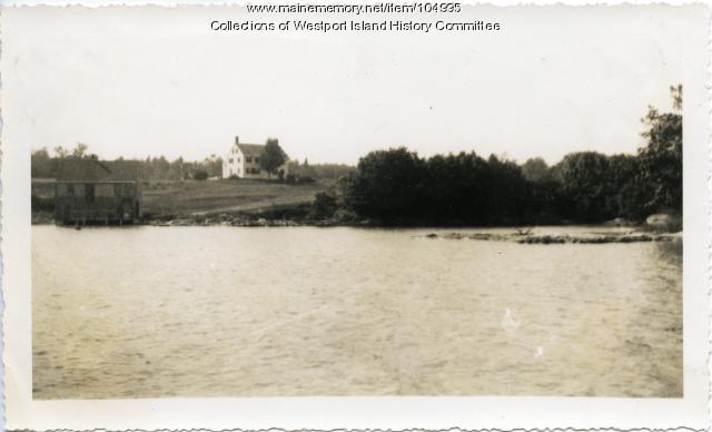 Josiah K. Parsons homestead, Westport Island, ca. 1935
