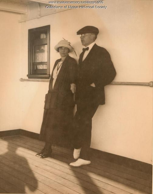 George and Ethel Jewett, ca. 1920
