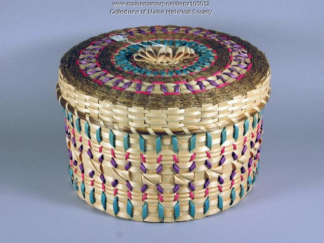 Rocky Keezer basket, Perry, 2000