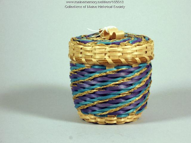 Clara Keezer basket, Perry, 1996
