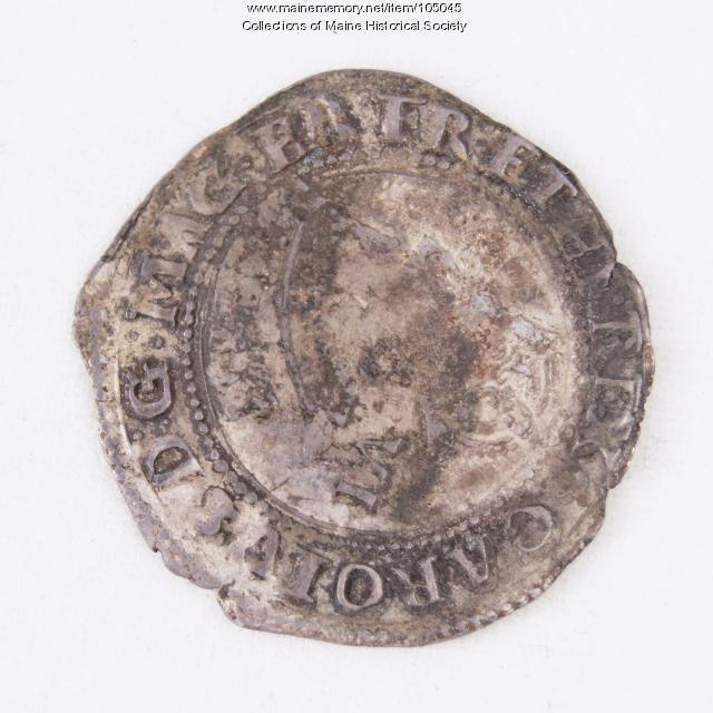 King Charles I English Unite coin, Richmond Island, 1625