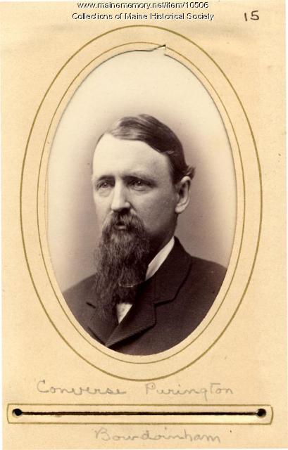 Converse Purington, Bowdoinham, 1880