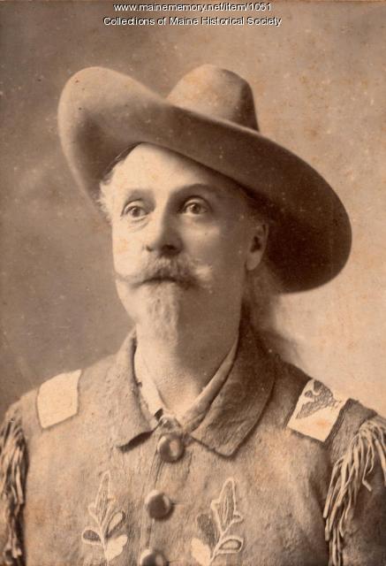 Buffalo Bill Cody, ca. 1887