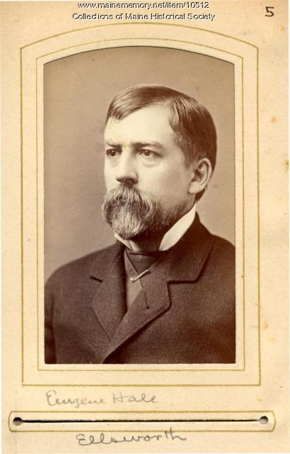 Eugene Hale, Ellsworth, 1880