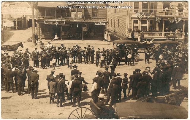 Houlton community and in Market Square, ca. 1910