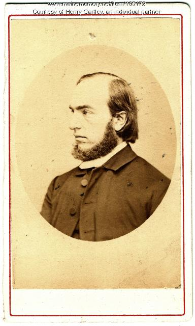 Bishop Henry Adams Neely, ca. 1867