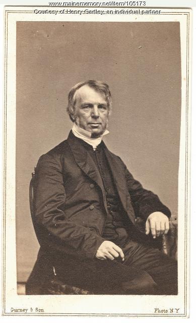 Bishop George Burgess, ca. 1847