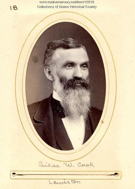 Silas W. Cook, Lewiston, 1880