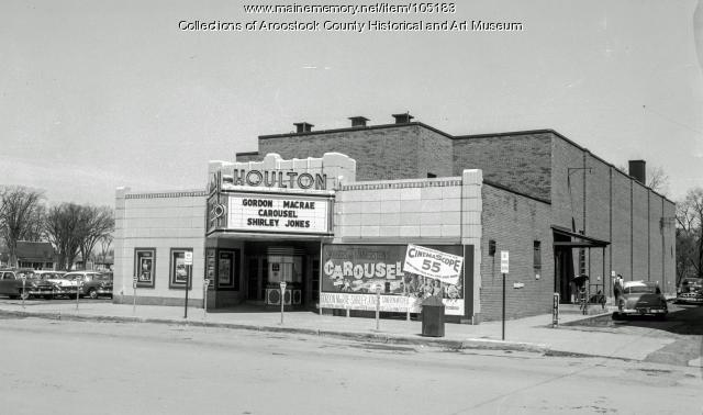The Houlton Theater, 1957