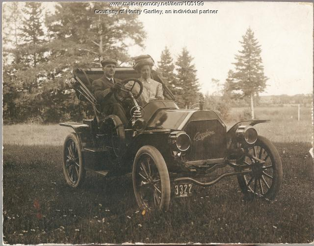 Charles and Evelyn Osgood, Houlton, ca. 1910