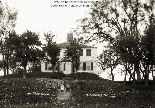 Marie Antoinette House, North Edgecomb, ca. 1915
