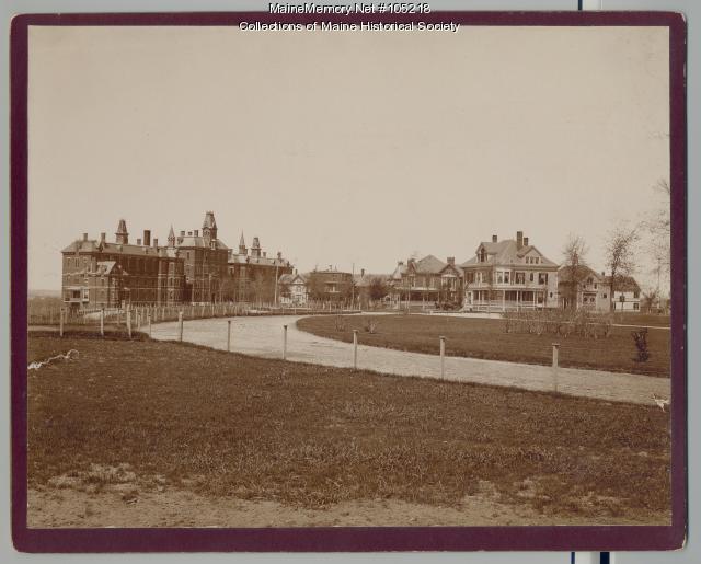 Maine General Hospital, Portland, ca. 1892