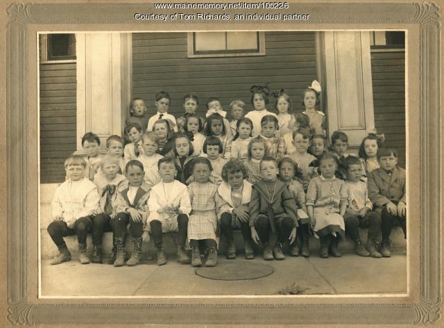 Cottage Farm School, Cape Elizabeth, ca. 1914