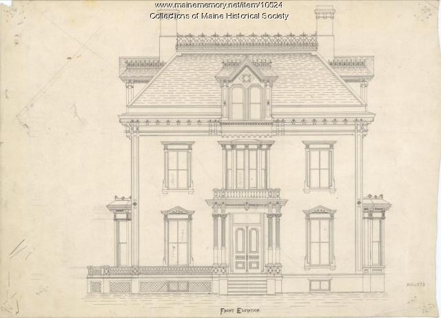 General George Varney home, Bangor, 1873