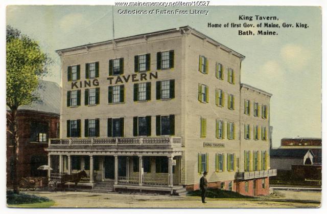 King Tavern, Bath, ca. 1910