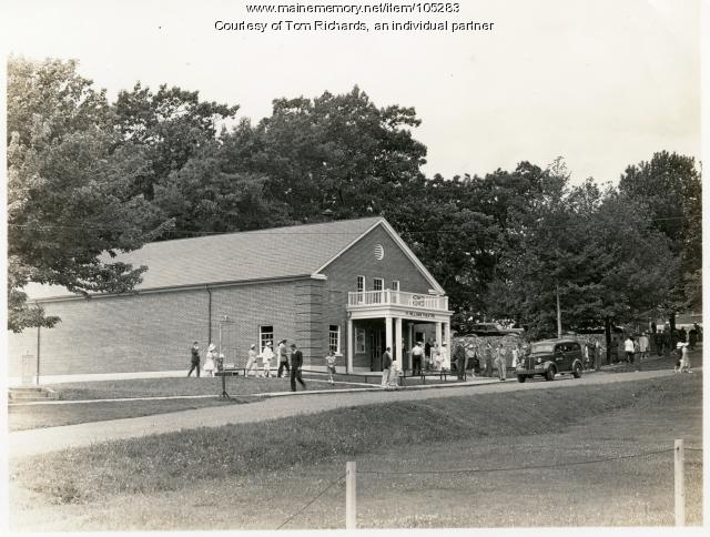 Fort Williams Theatre, Cape Elizabeth, ca. 1940