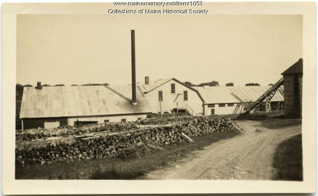 Jewett's Norridgewock Corn Shop, ca. 1910