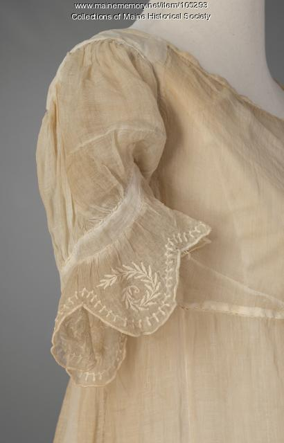 Madam de St. Felix ball dress, ca. 1820