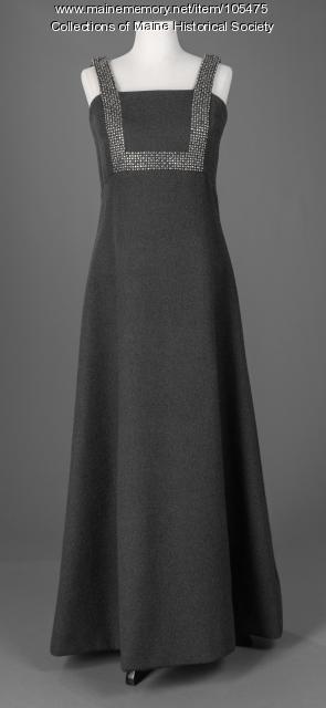 Geoffrey Beene evening dress, ca. 1975