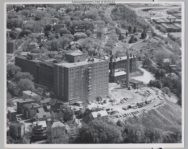 Richards Wing at Maine Medical Center, Portland, 1968