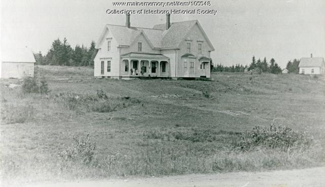 Joseph S. Dodge house, ca. 1900
