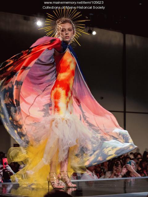 """Dawnland Couture"" by Decontie & Brown, Bangor, 2019"
