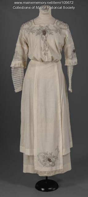 Two-piece dress and blouse, Cherryfield, ca. 1912