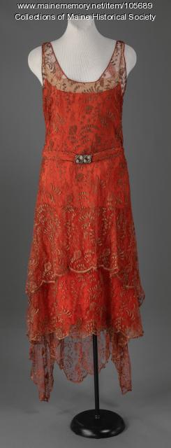 Bergdorf Goodman cocktail dress, ca. 1925