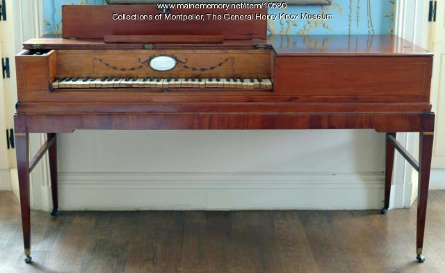 Longman and Broderip Pianoforte, ca. 1790
