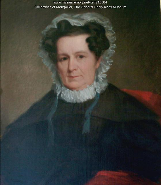 Lucy Flucker Knox Thatcher, ca. 1840